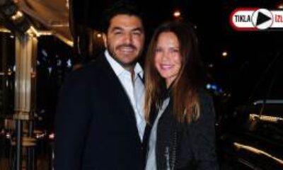 Ebru Şallı Eğlendiği Mekanda Eşi Uğur Akkuş'la Tabak Kırdı