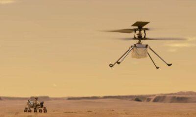 NASA'nın Mars helikopteri uzayda şarj edildi