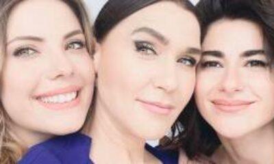 Nesrin Cavadzade, Şevval Sam ve Eda Ece'den Keyifli Video
