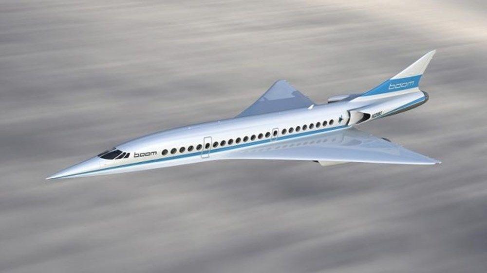 Süpersonik yolcu uçağı XB-1 çok yakında tanıtılacak