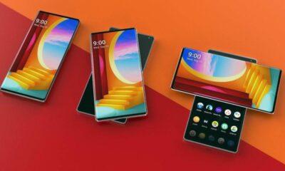 T şeklindeki telefon LG Wing'in ekranı böyle dönecek