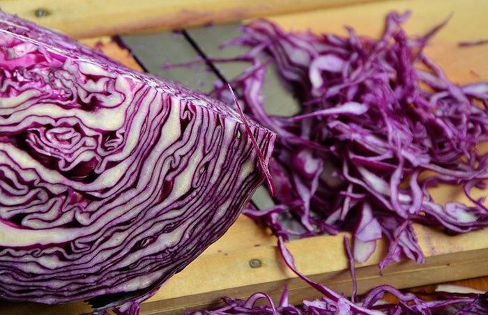 9- Kırmızı lahana