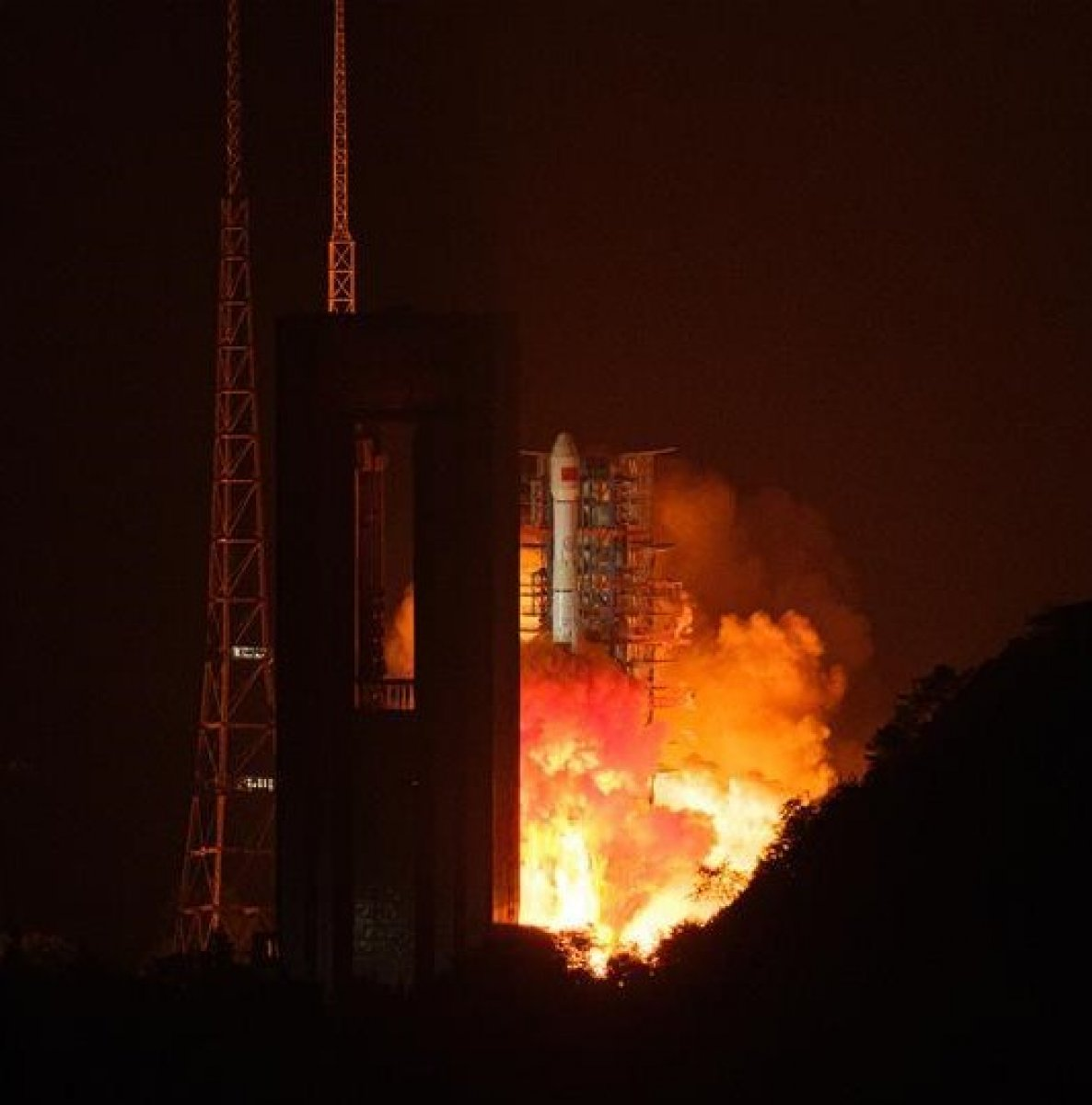 Çin, optik algılama uydusunu uzaya gönderdi #1