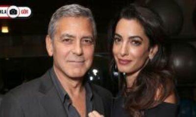 George Clooney ve Amal Clooney Beyrut'a Bağış Yaptı
