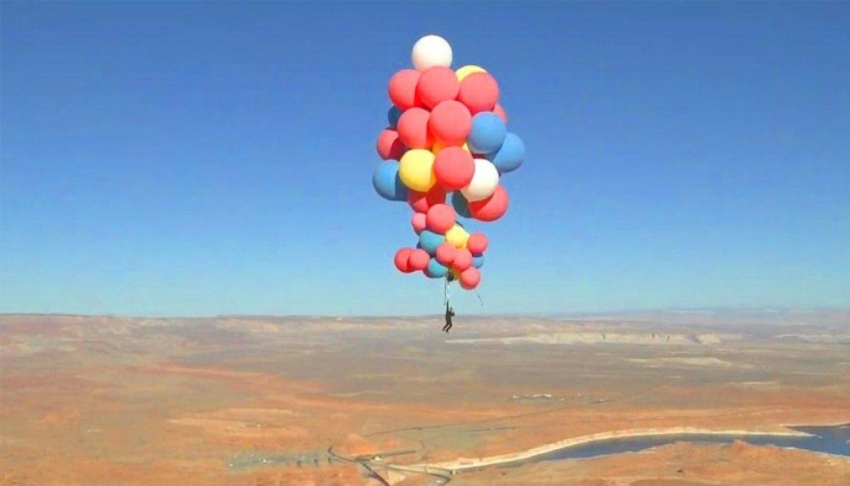 Herhangi bir nesneyi kaldırabilmek için kaç adet helyum balonu gerekir?