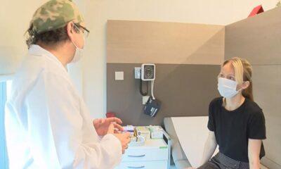 Ukraynalı kadın robotik böbrek nakliyle Türkiyede sağlığına…