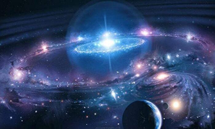 Hubble Uzay Teleskobu, çarpışma öncesi iki dev galaksiyi görüntüledi