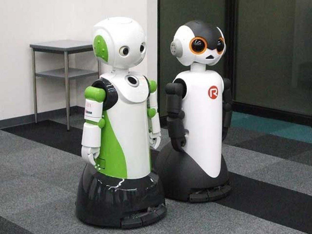 Japonya'da maske takmayanları ve sosyal mesafeye uymayanları tespit eden robot: Robovie