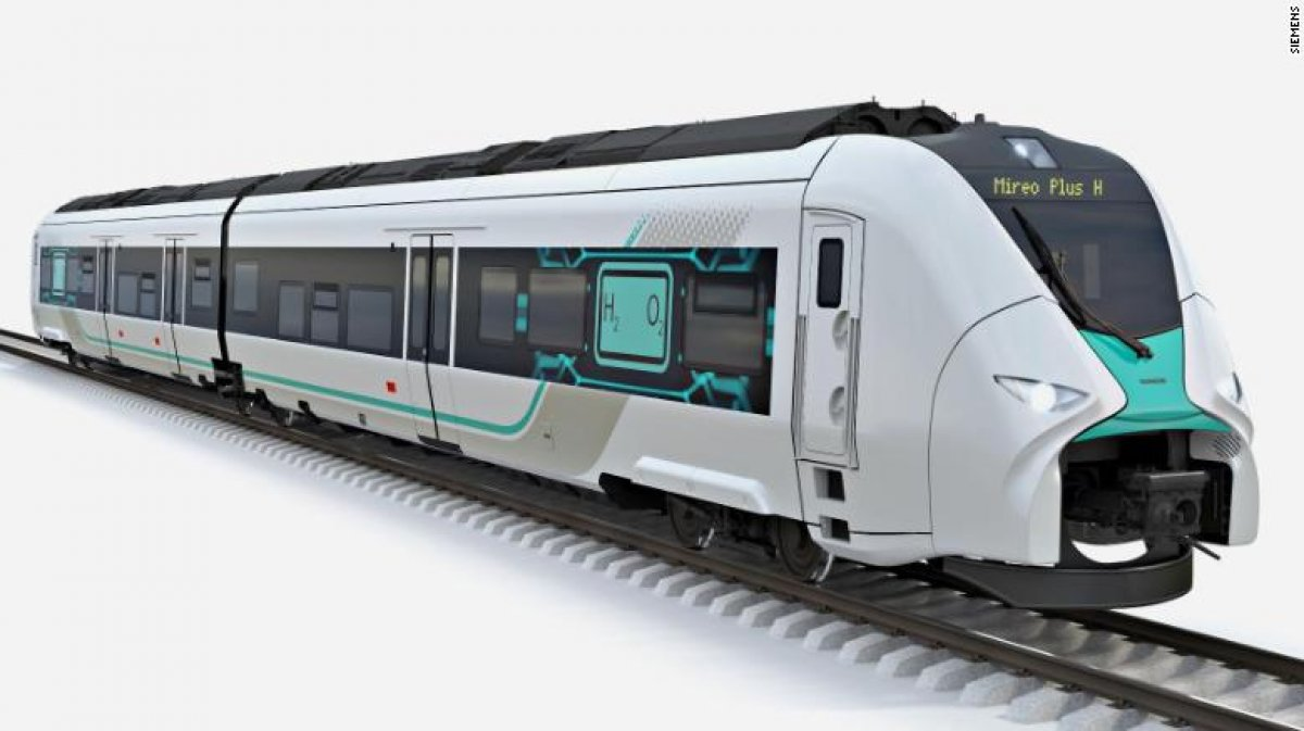 Siemens, Almanya'da hidrojenle çalışan tren geliştirdi