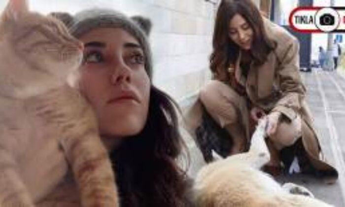 Cansu Dere, Hayvanseverlerin Gönlünü Fethetti