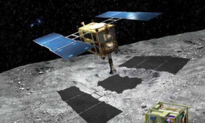Hayabusa 2, göktaşından topladığı örneklerle Dünya'ya dönüyor