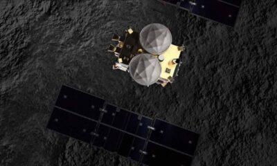 Hayabusa 2 uzay aracının göktaşından topladığı örnekler Japonya'ya gitti