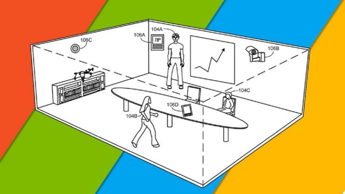 Microsoft'tan toplantılara katılacakları gözlemleyen yeni patent #1