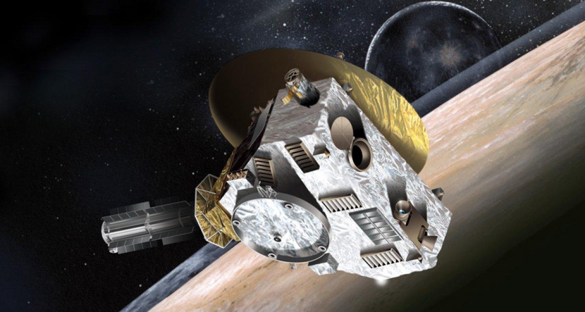 Plüton aracından garip keşif: Uzay sanıldığı kadar karanlık değil #1