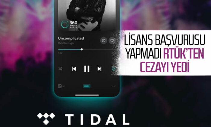 RTÜK, müzik Platformu TIDAL'a erişim engeli getirdi