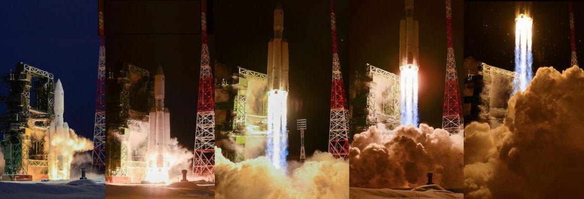 Rusya, Angara-A5 roketini fırlattı #1