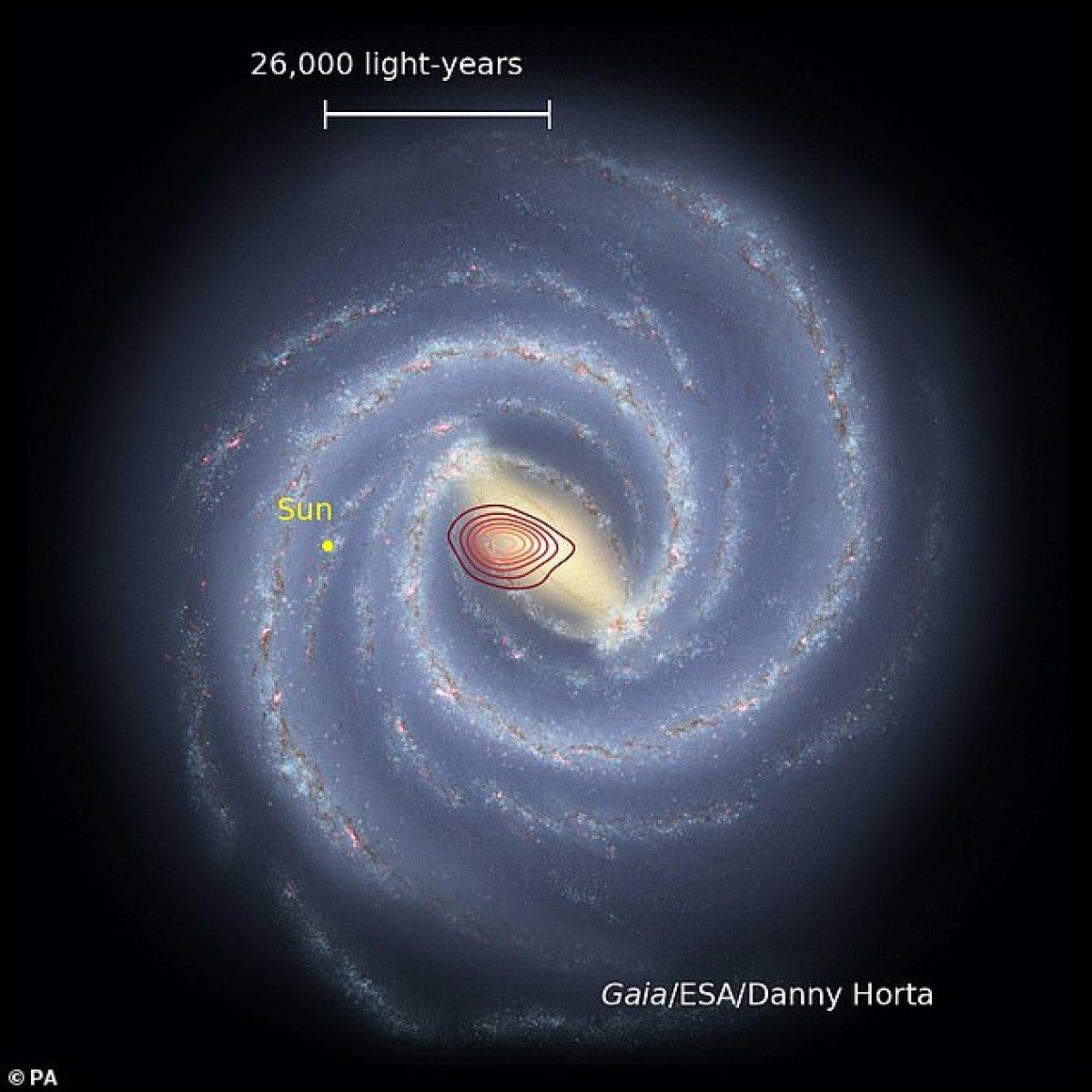 Samanyolu'nun derinliklerine gizlenmiş yeni bir galaksi keşfedildi