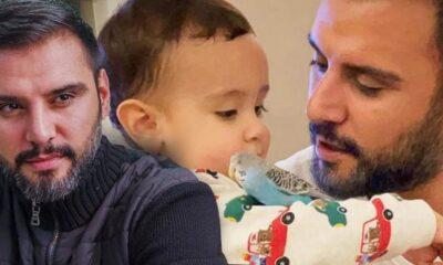 Alişan, Oğlu Burak'ın Bateri Çaldığı Anları Paylaştı