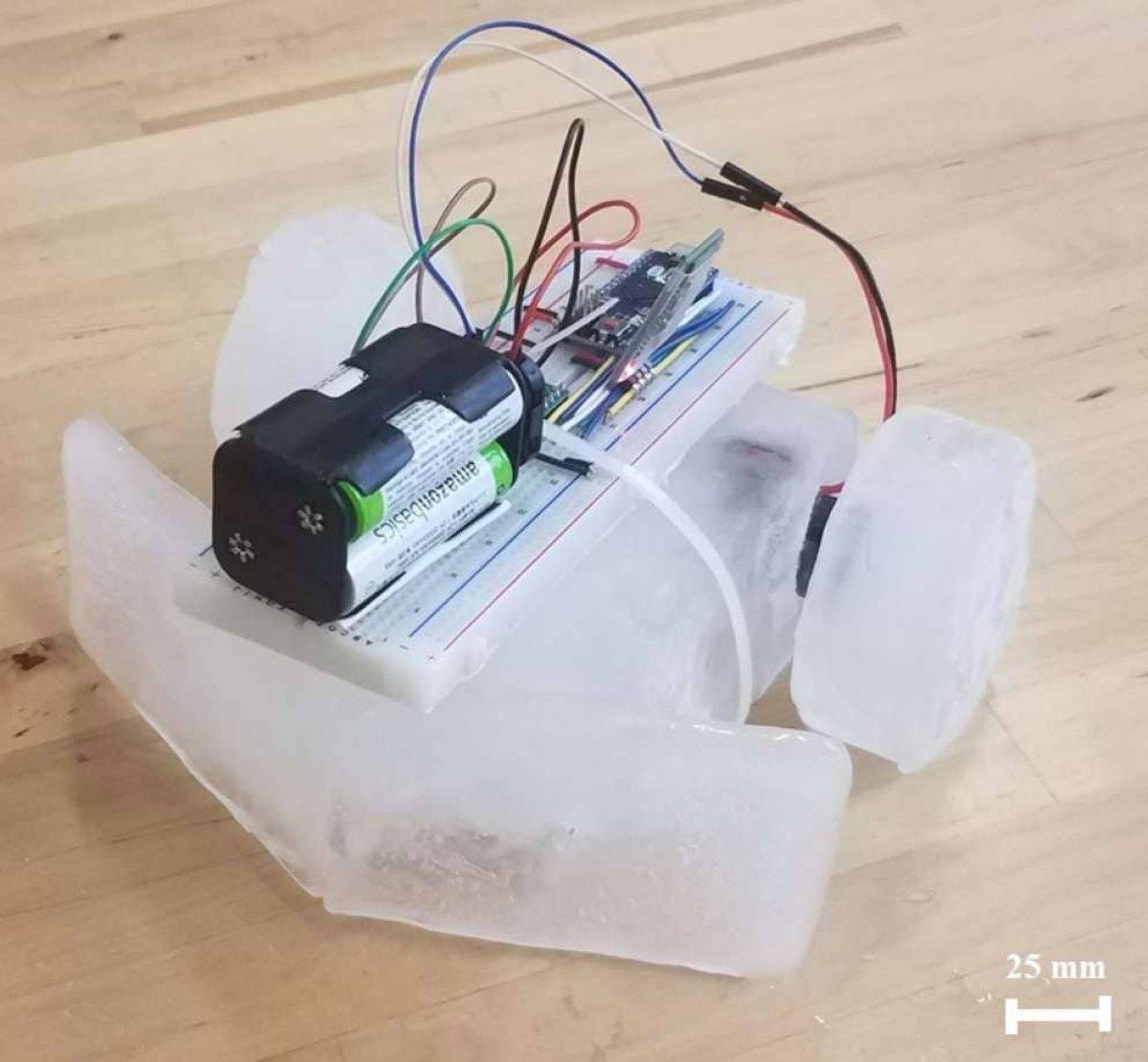 Buzla kaplı gezegenlere buzdan robotlar gönderilecek