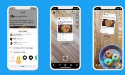 Instagram Hikayeler'e tweet ekleme özelliği test ediliyor