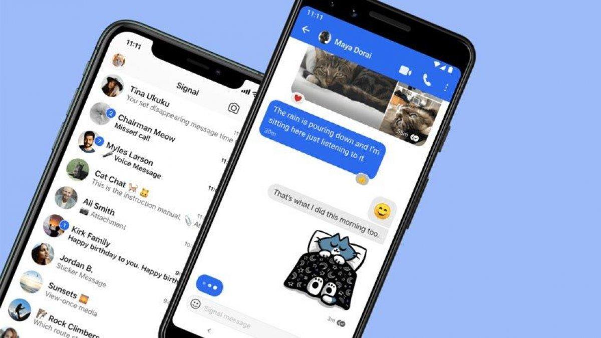Signal, WhatsApp tan ayrılan kullanıcılar nedeniyle sunucularını genişletti #1