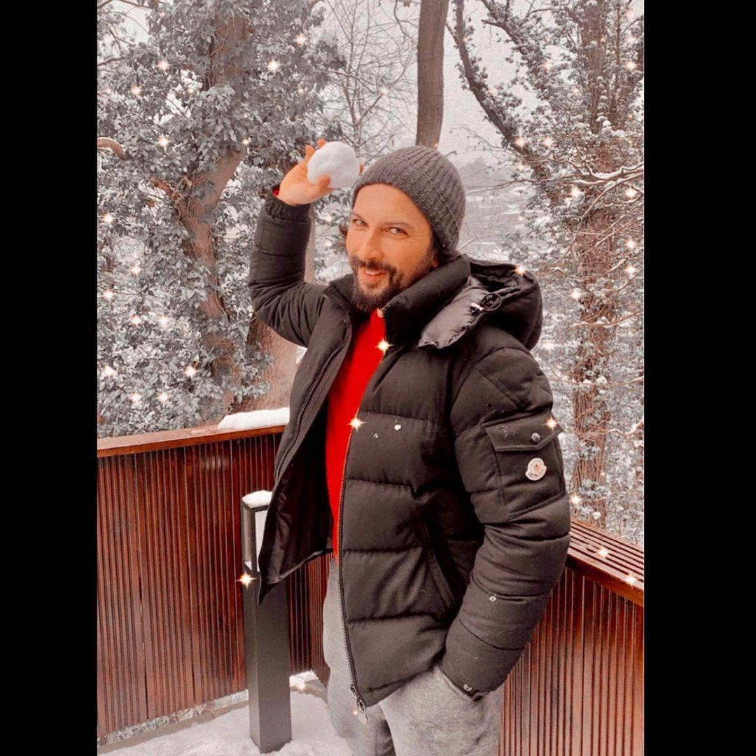 Tarkan'dan Kar Paylaşımı