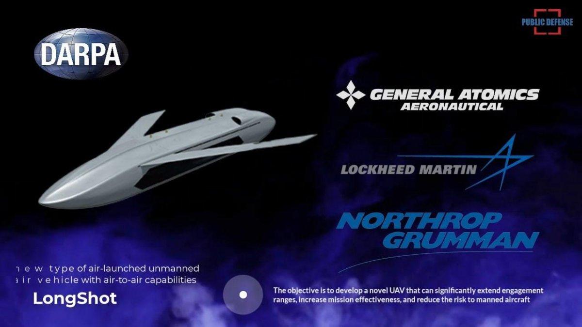 ABD'den füze taşıyan drone projesi: LongShot