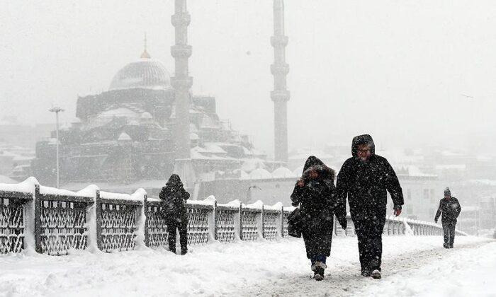 İstanbul için kuvvetli kar yağışı uyarısı