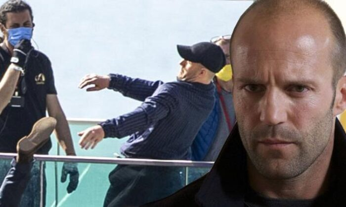 Jason Statham ve Guy Ritchie Antalya'da Film Çekimine Devam Ediyor