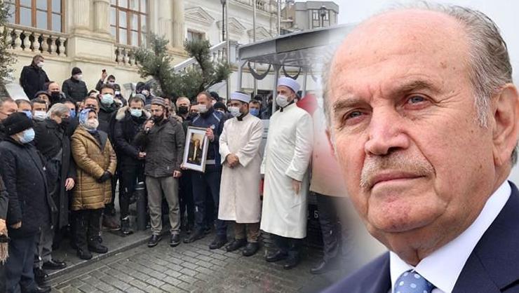 Kadir Topbaşa acı veda! Törene Erdoğan da katıldı