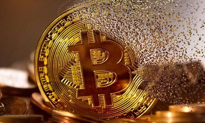 Bitcoinde düşüş dürüyor, 45 bin doların altına geriledi