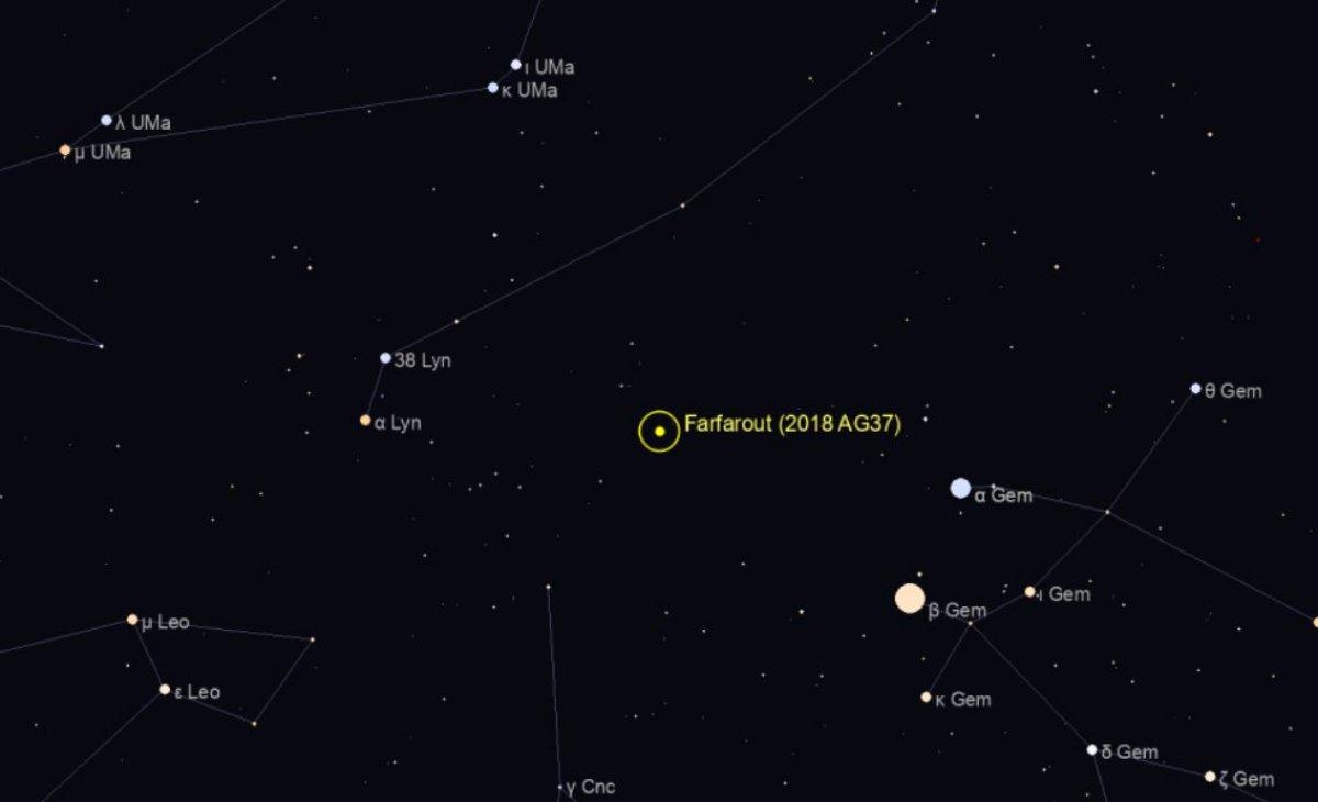 Güneş sisteminde gözlemlenen en uzak nesne bulundu