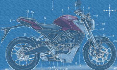 Honda'dan, ne amaçla kullanılacağı bilinmeyen drone'lu motosiklet patenti