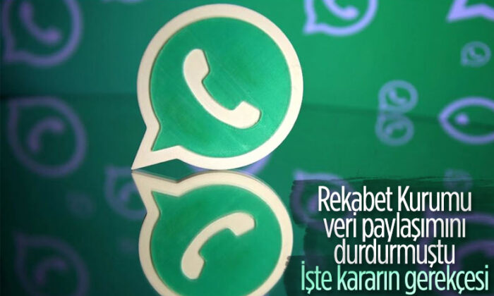 Rekabet Kurumu, WhatsApp kararının gerekçesini açıkladı