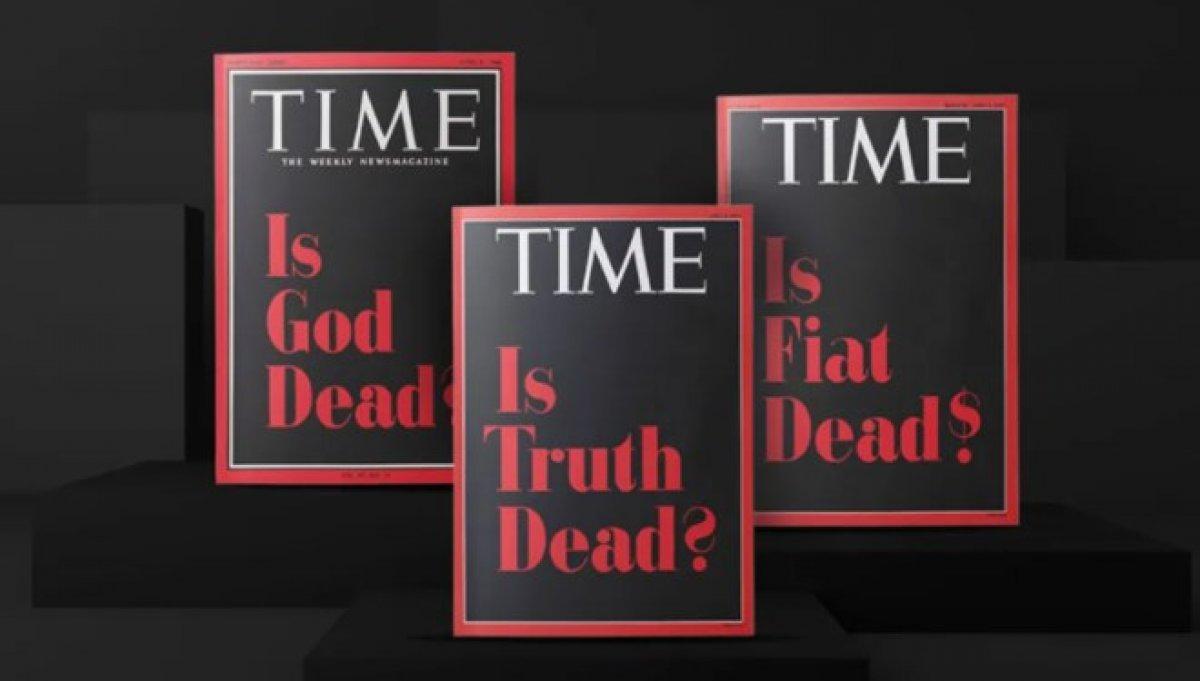 Time dergisi, hazırladığı üç kapağı NFT olarak satışa çıkardı