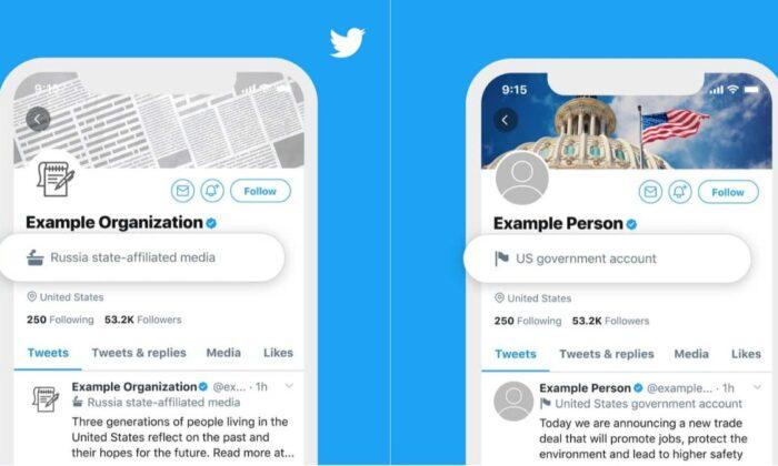 Twitter, Türkiye'de devlete bağlı hesapları etiketleyecek