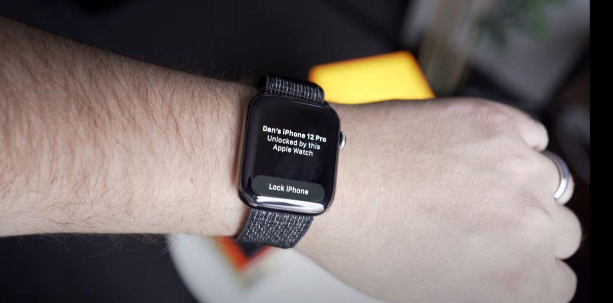 Apple Watch ile iPhone'ların kilidini açma özelliği watchOS 7.4 ile geliyor