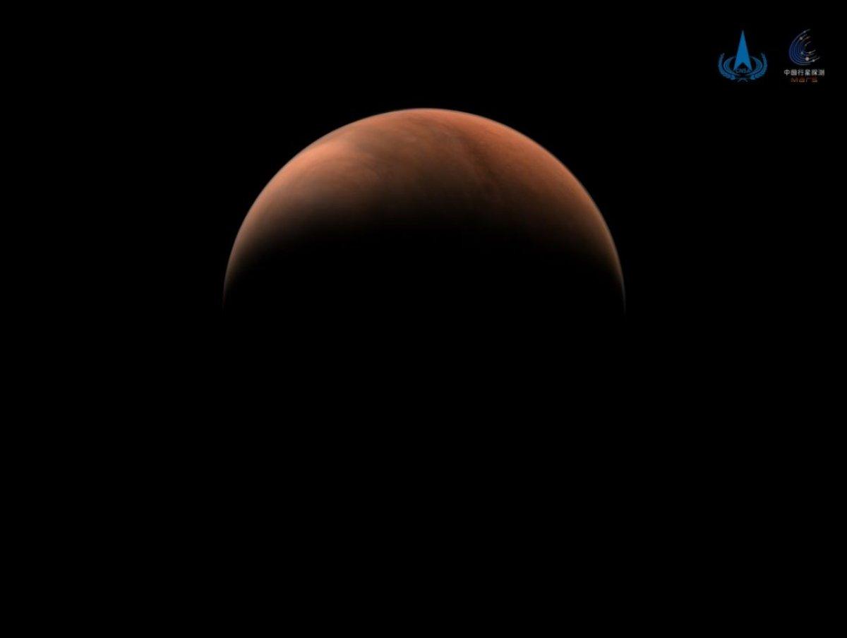 Çin'in Mars aracı Tianwen-1'den yeni fotoğraflar geldi