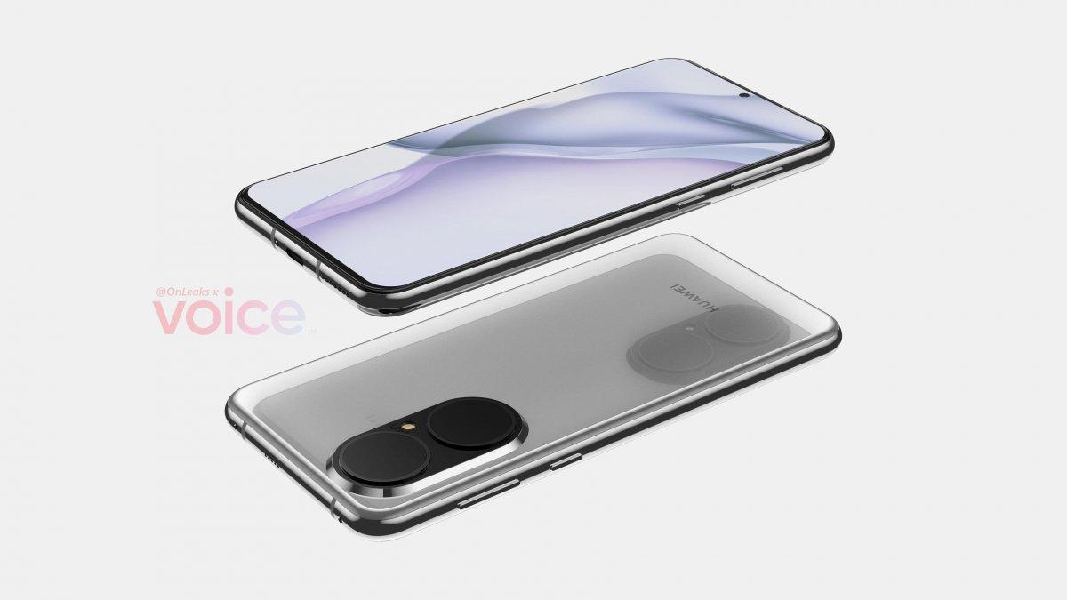 Huawei P50, devasa kamera modülüyle ortaya çıktı