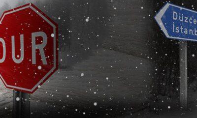 İstanbulda beklenen kar yağışı başladı