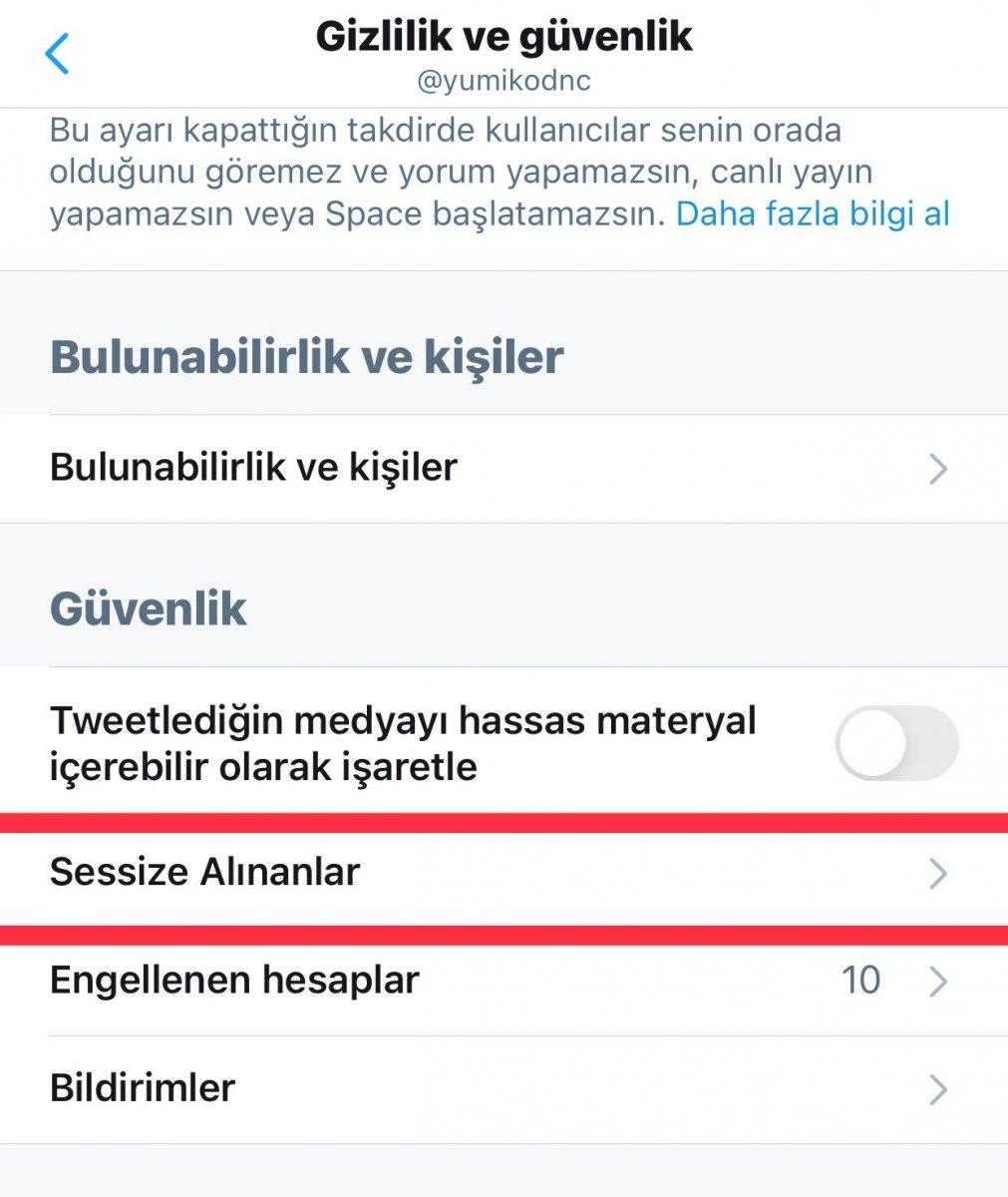 Twitter'da kelimeler nasıl sessize alınır? Twitter istenmeyen kelimeyi engelleme işlemi 2021