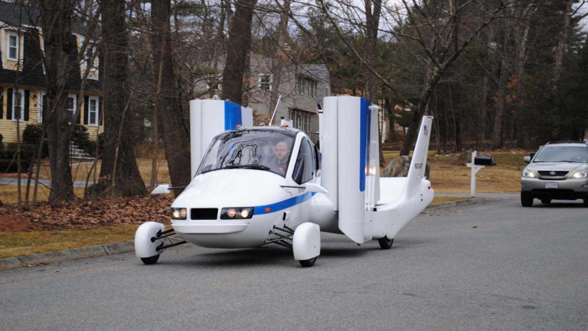 Uçan otomobil Transition, ABD'den onay aldı
