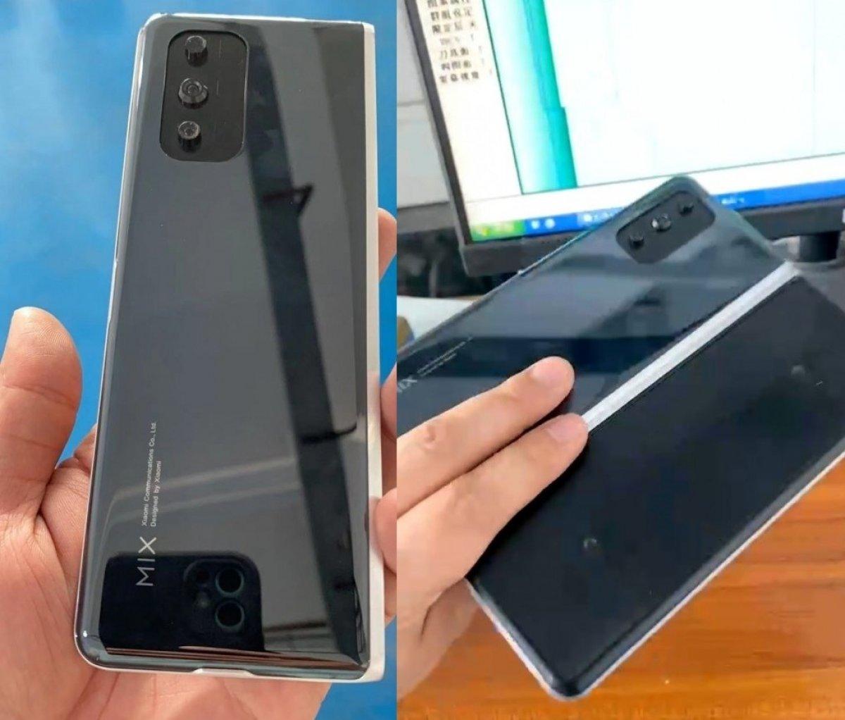 Xiaomi'nin katlanabilir telefonu ile ilgili yeni görüntüler yayınlandı