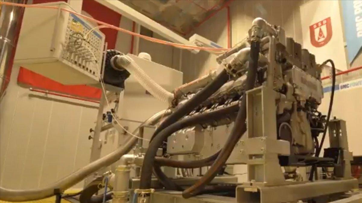 ALTAY tankı için geliştirilen yerli motor BATU ilk kez ateşlendi #1
