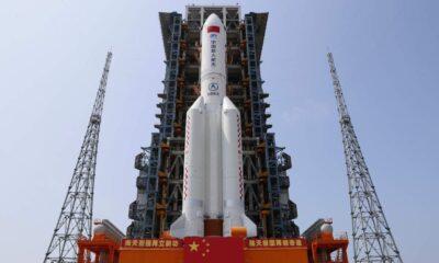 Çin: Yörüngeden çıkan roketin zarar verme ihtimali çok düşük